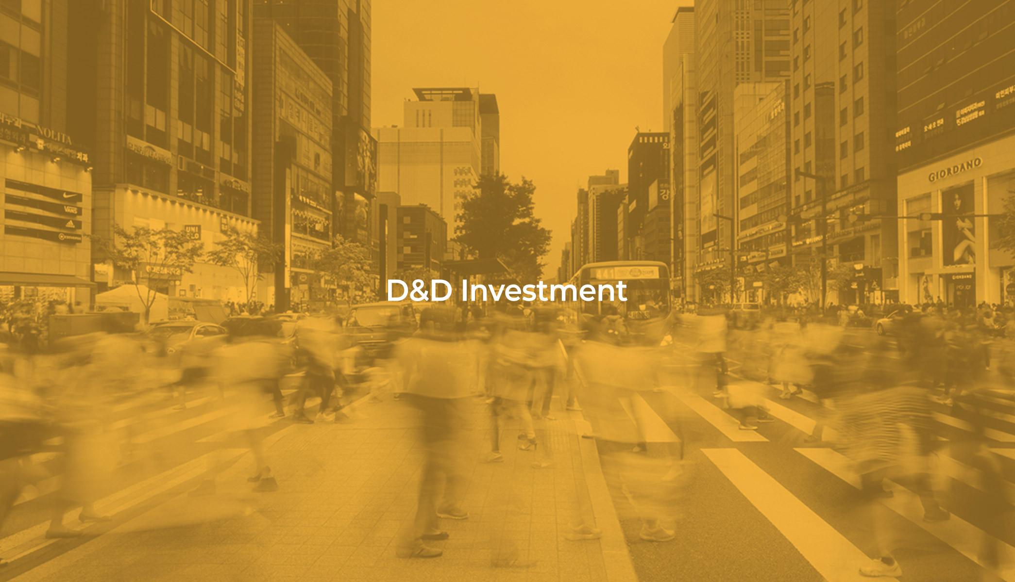 D&D INVESTMENT WEB